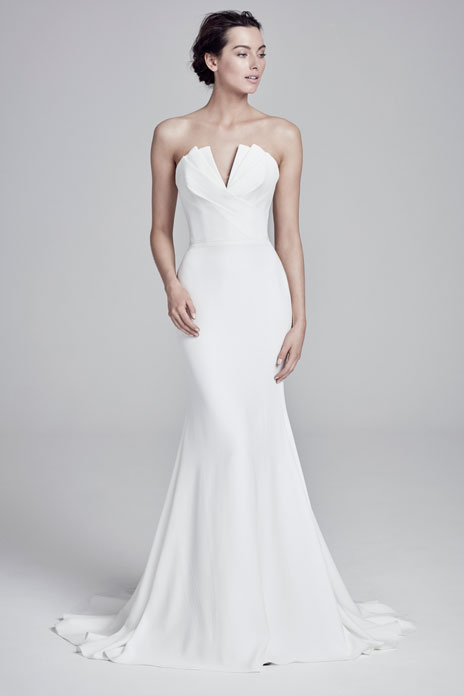 Bridal trend: Sharp cut