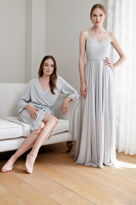 Georgina Keeley and TH&TH collaborate for a limited-edition bridal robe