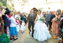 Real wedding: Sunshine day