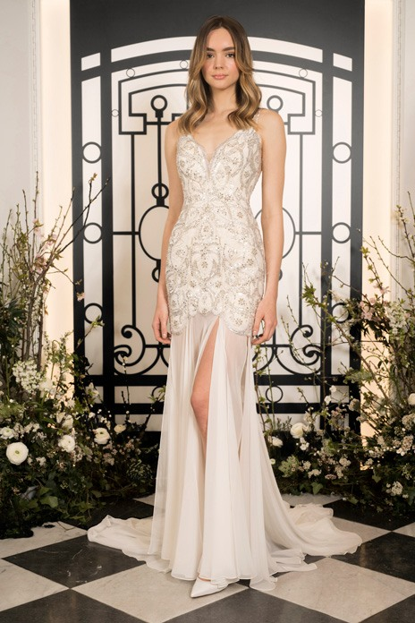 Bridal trend: Cutaway gowns for high glamour