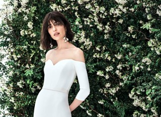 Bridal trend: Clean line