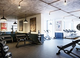 London developments with a gym