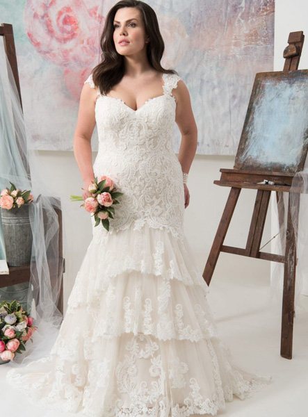 Walk the Aisle in Style with the Best Plus-Size Wedding Dresses