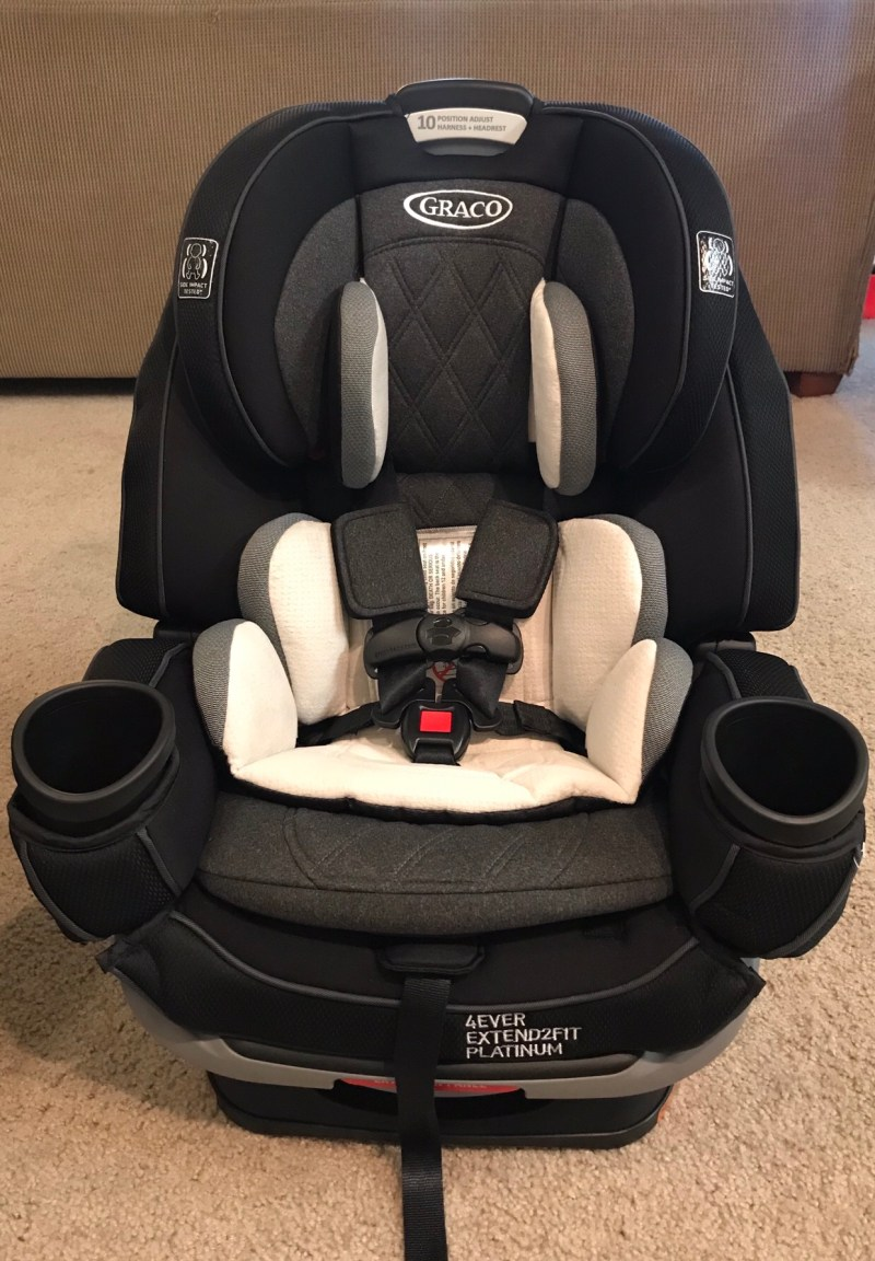 Graco Shale 4Ever Extend2Fit Platinum All-in-One Convertible Car Seat