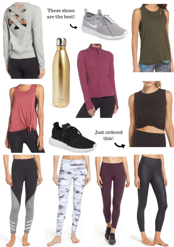 Winter Workout Clothes to Help You Stay Motivated by popular Florida style blogger Absolutely Annie