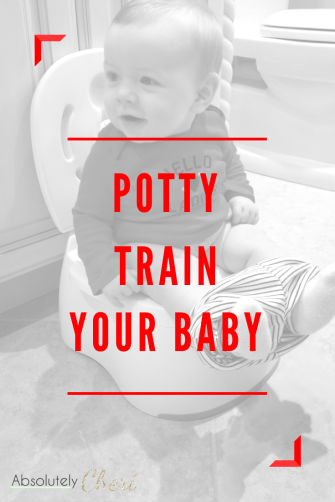 My son was potty trained well before his first birthday and completely diaper free by 18 months. You can do it too! It's way easier than you think!  #pottytraining #earlypottytraining #eliminationcommunication