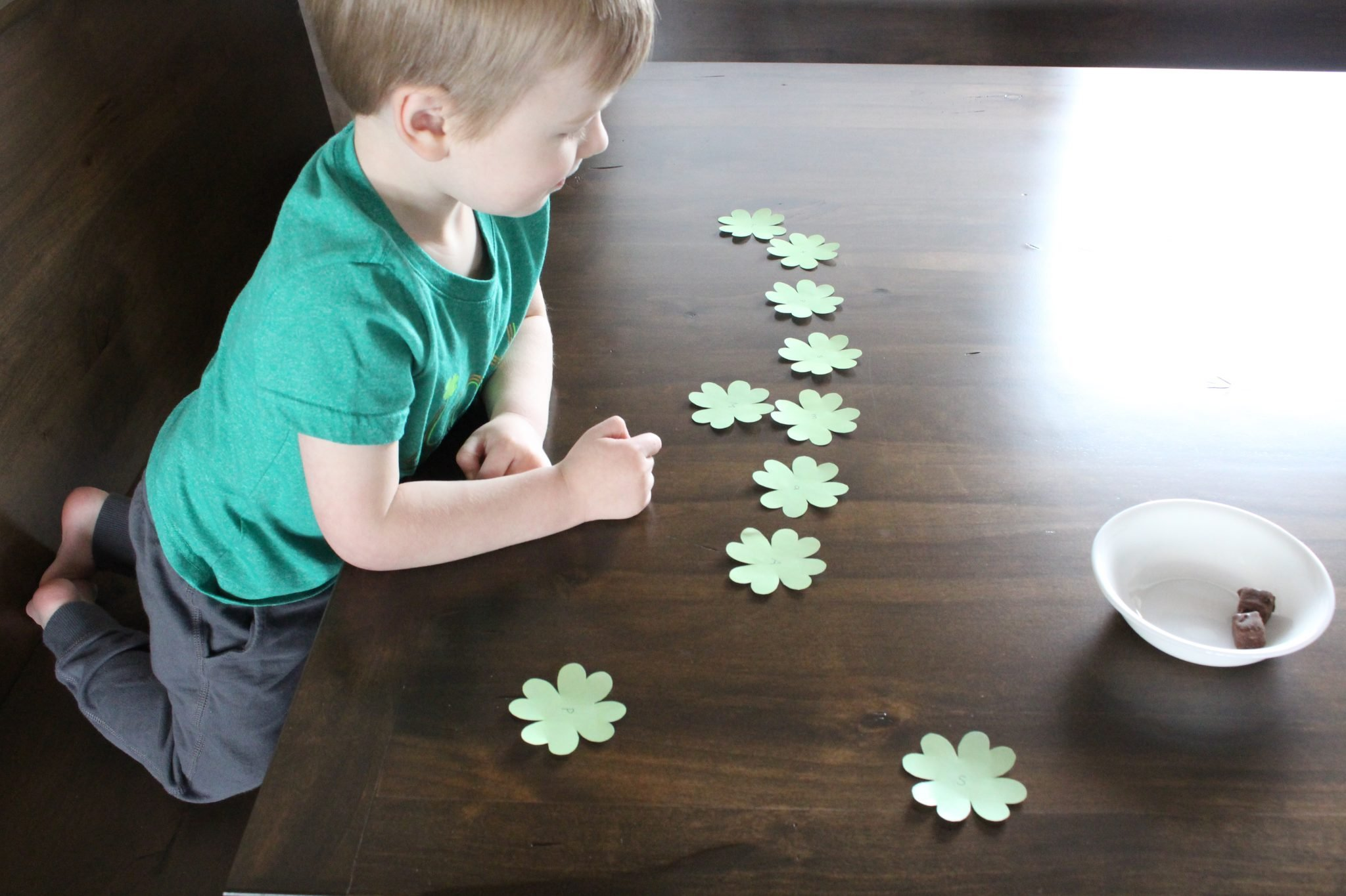 St Patrick S Day Four Leaf Clover Activities
