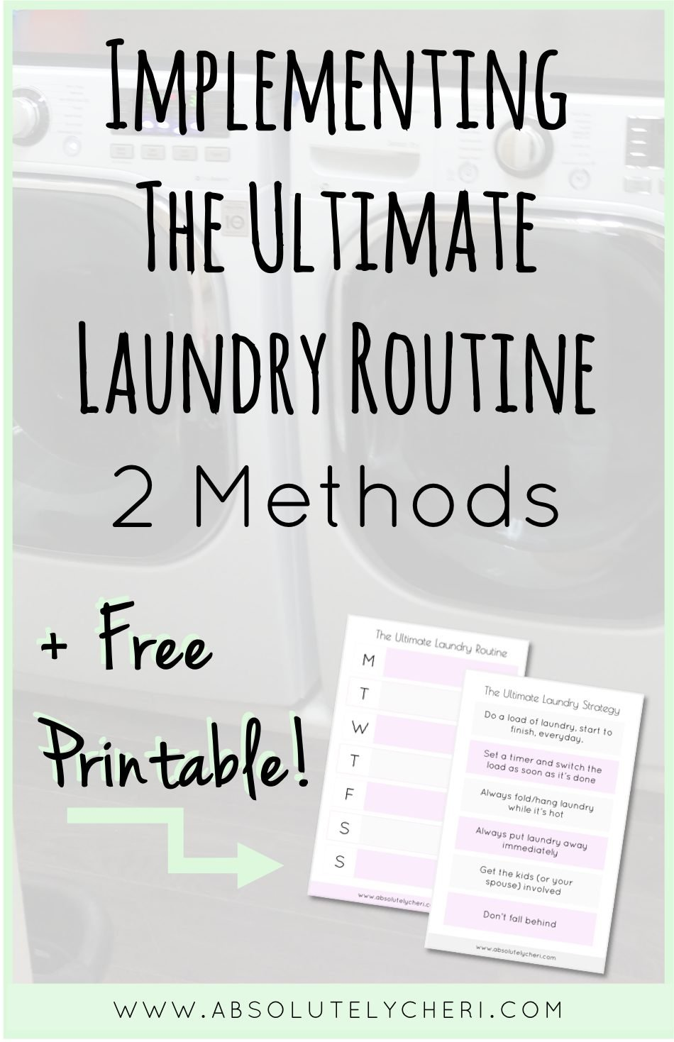 Take the stress out of laundry with this routine. This post will help you learn how to maintain the laundry and never climb the laundry mountain again.