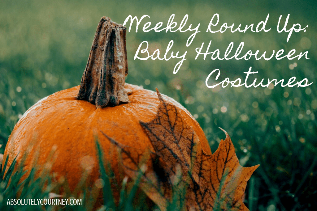 Weekly Round Up Baby Halloween Costumes
