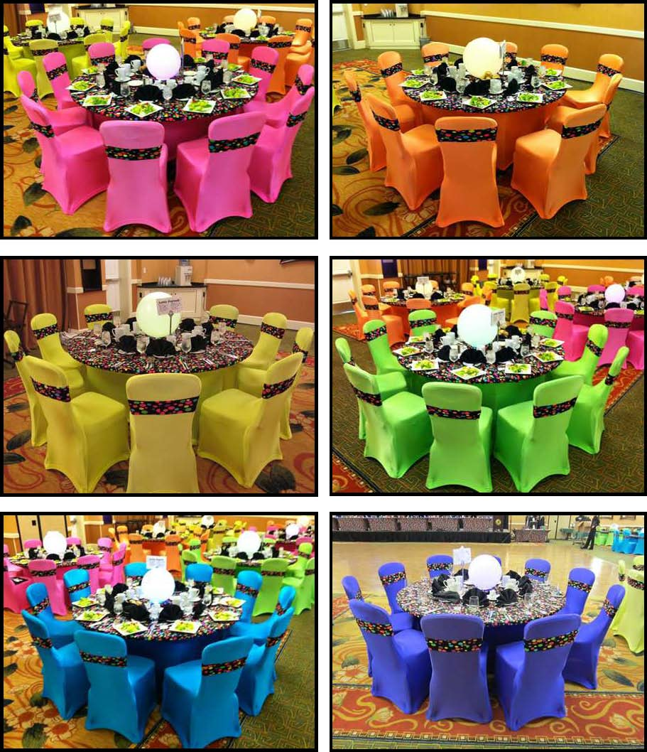 Yellow Chair Covers Spandex Products For Absolutely Fabulous Events And Productions