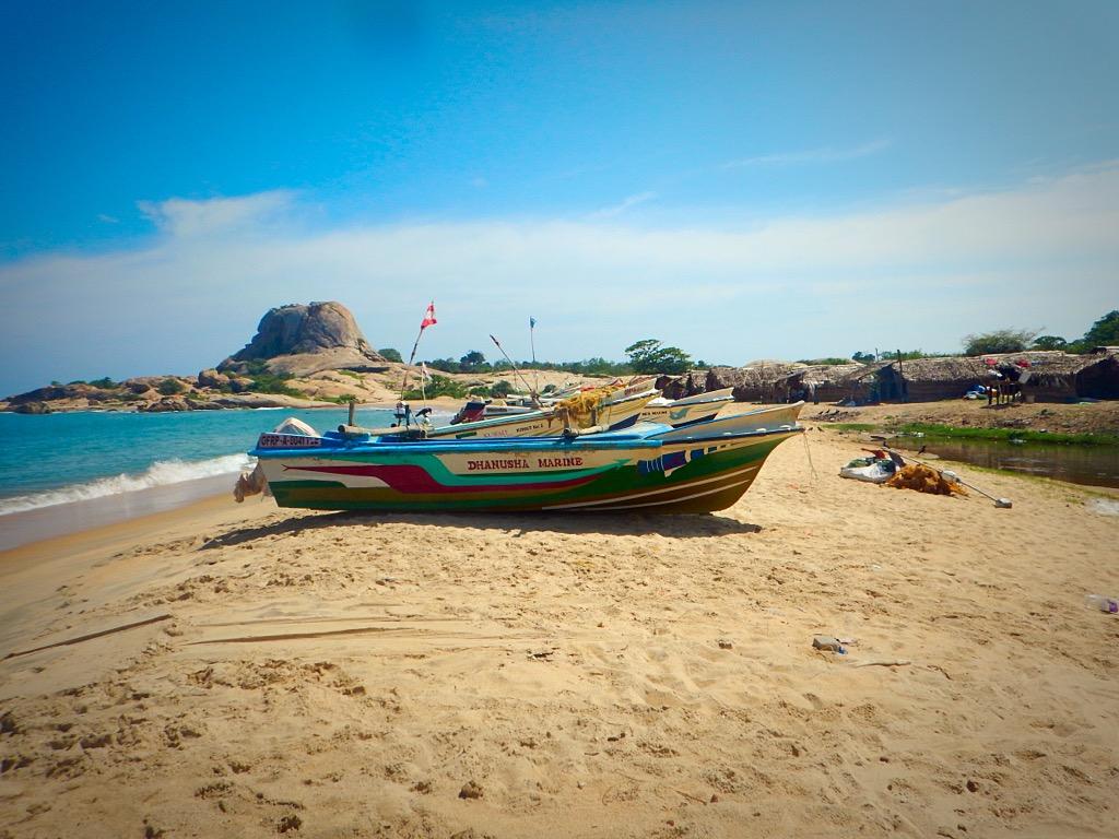 Sri Lanka fishing village Yala National Park