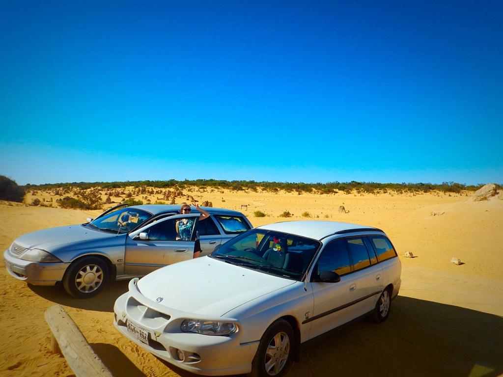 Western Australia road trip cars