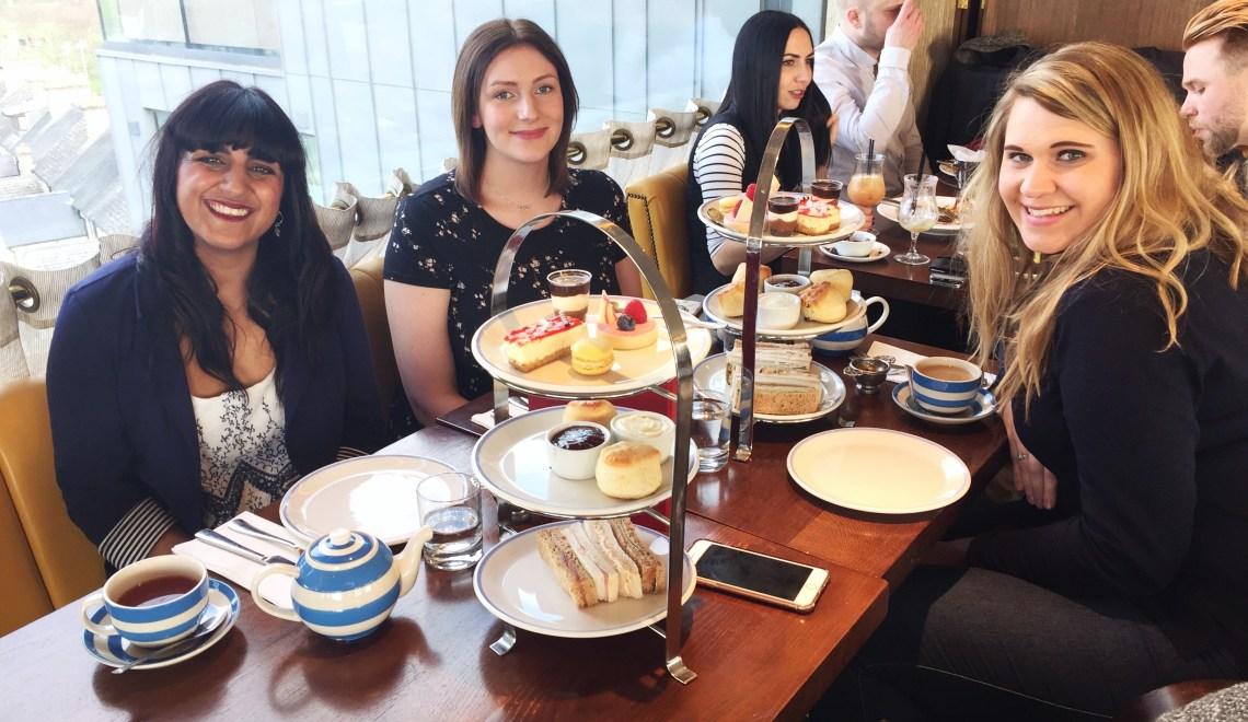 Afternoon tea at The Varsity Hotel & Spa | Cambridge