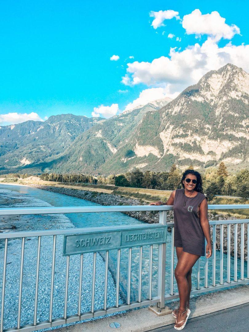 Switzerland - Liechtenstein border