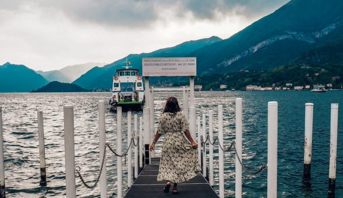 Absolutely Lucy, Milan to Lake Como, Italy
