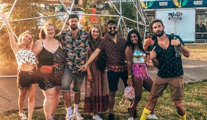 Garorock Festival crew