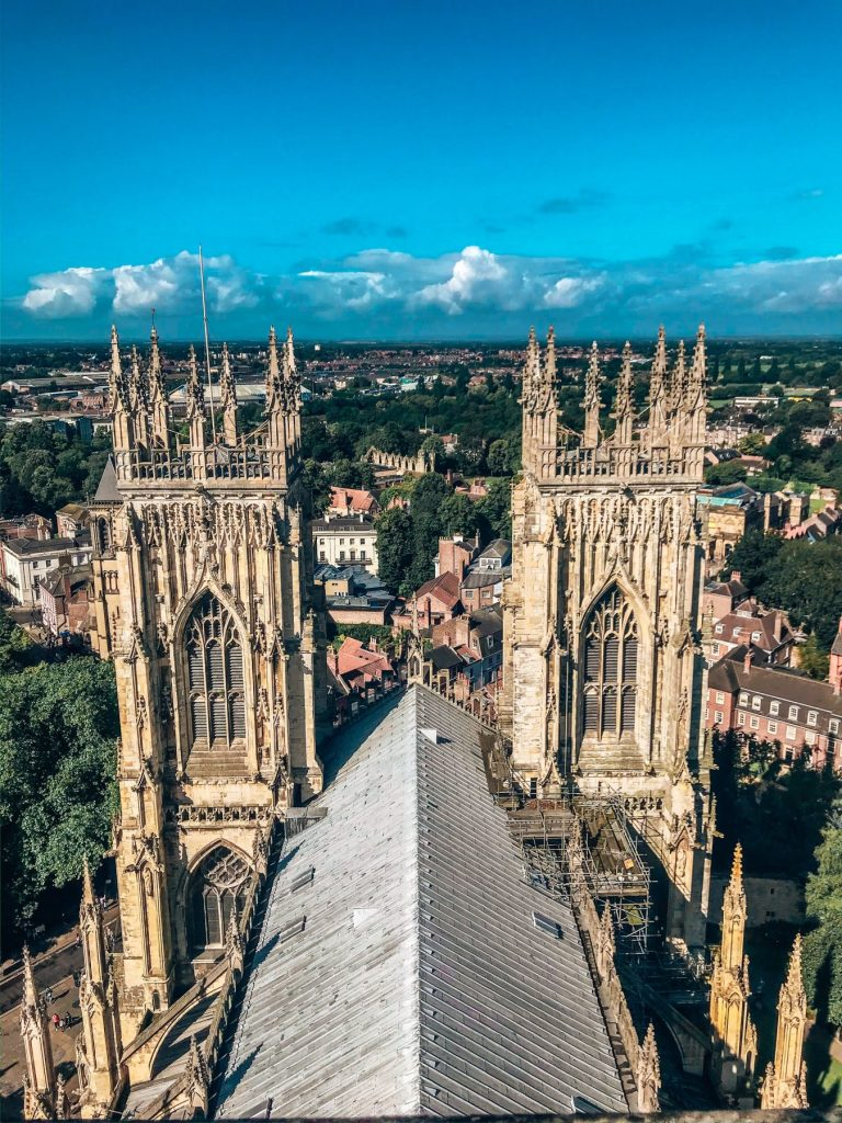 The view from York Minster