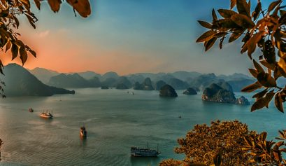 Halong Bay, one of many places you can visit with the Vietnam e-visa