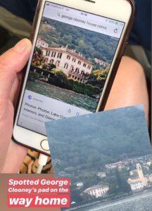George Clooneys Villa Oleandea, Italy
