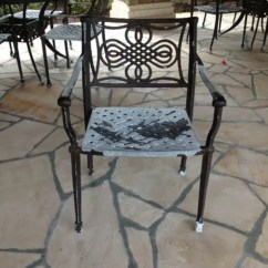 Replacement Chair Slings Sams Club Chairs Patio Furniture Restoration - Absolute Powder Coating