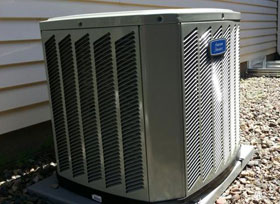 high efficiency American Standard air conditioning system