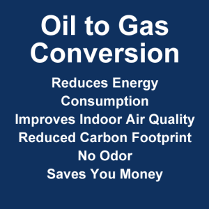 oil to gas conversion benefits