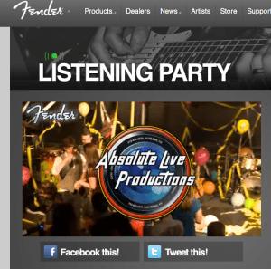 Fender Listening Party