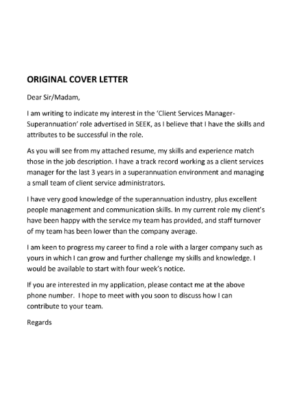 Cover Letter Services Absolute Resume