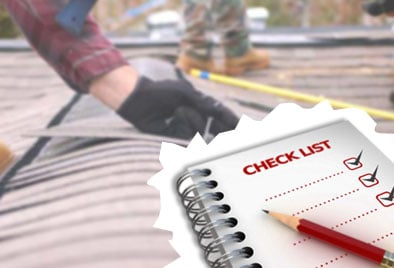 Roofing tips checklist