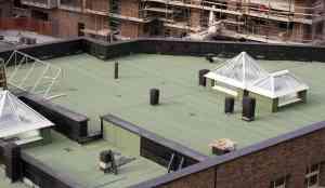 Flat Roof Maintenance.