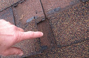 Pointing out a Roof Leak