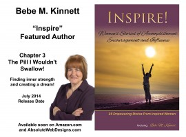 Inspire with featured author Bebe Kinnett