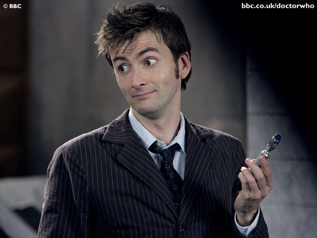 Le Docteur ( David Tennant ).