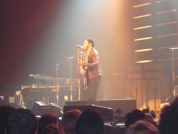 Lenny Kravitz live from Caen