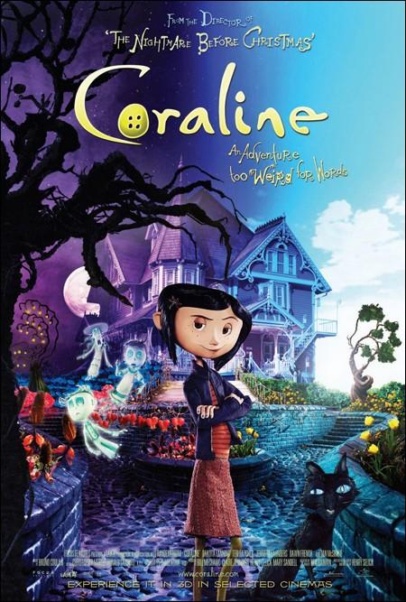 Affiche de Coraline.