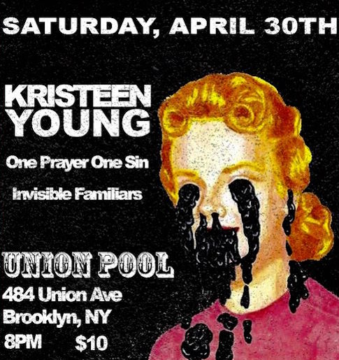 Kristeen Young April 30th