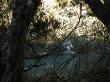 Rio azulado