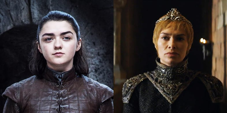 Game of Thrones: Why Arya Stark Cannot Kill Cersei Lannister