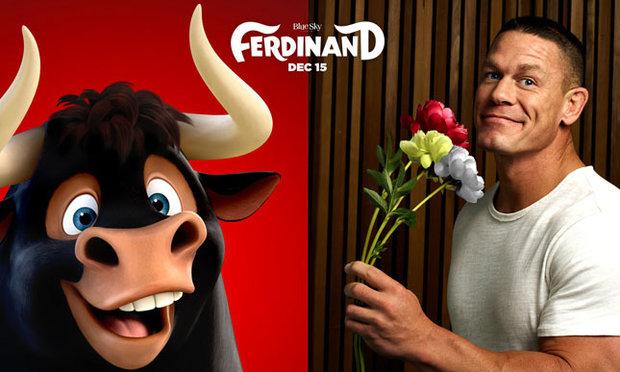 Watch John Cena In New Ferdinand Trailer