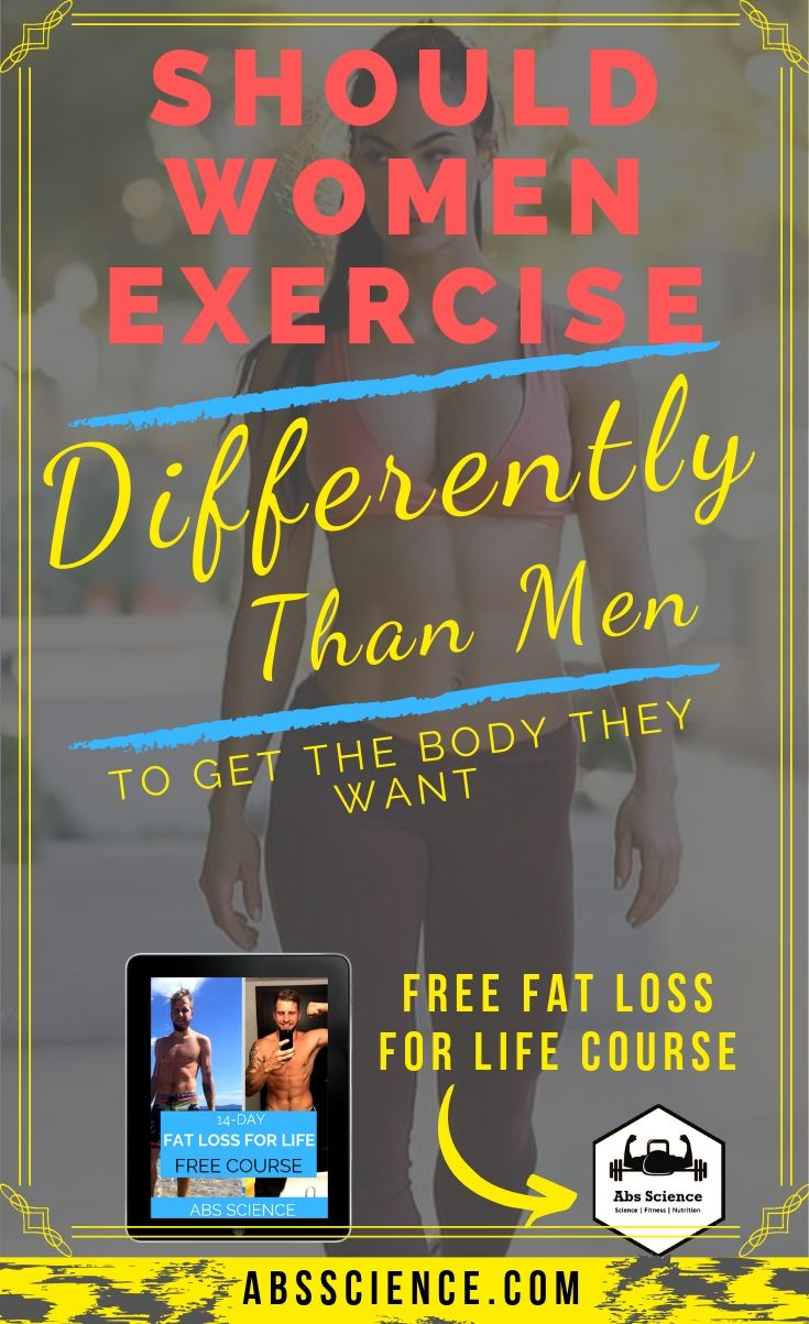 Should Women Exercise Differently Than Men?