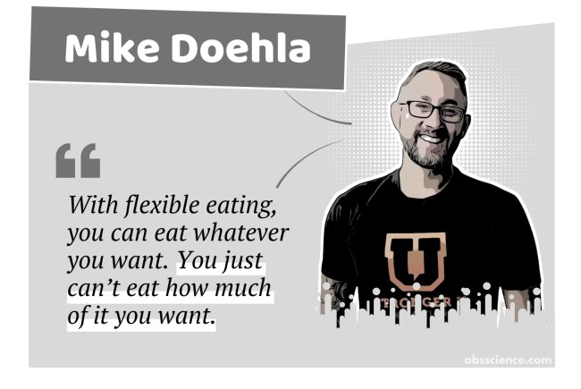 Mike Doehla on flexible dieting
