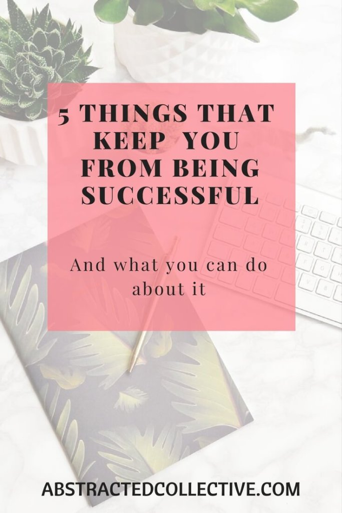 5 barriers that is keeping you from the success you deserve