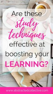 Are these study techniques effective at boosting your learning and memory retention? 10 popular study methods are examined by psychologists. What is their conclusion? Fit their study tips into your learning.
