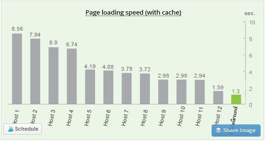 Fast page loading for SiteGround - ensures that your site does not crash when traffic spikes