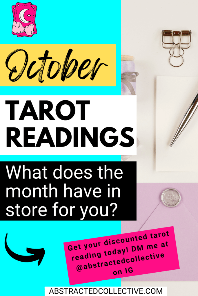 Tarot & Oracle Readings for October 2021