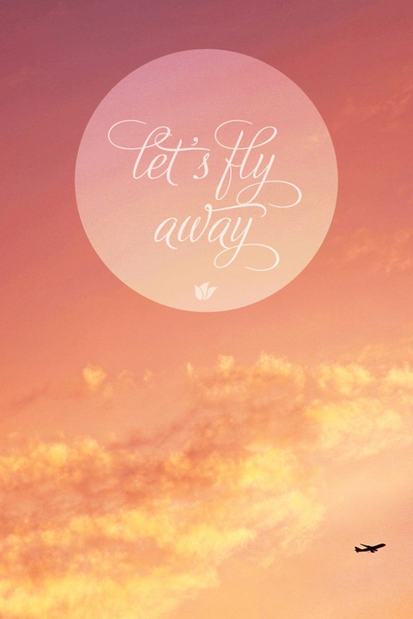Peter Pan Quote Iphone Wallpaper Fly Away Abstract Quote Wallpaper Iphone4 640x960