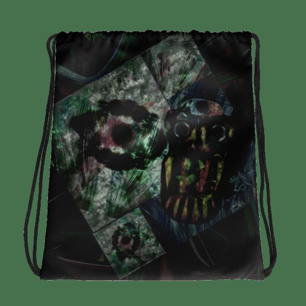 all over print drawstring bag white front 60c34505c3813
