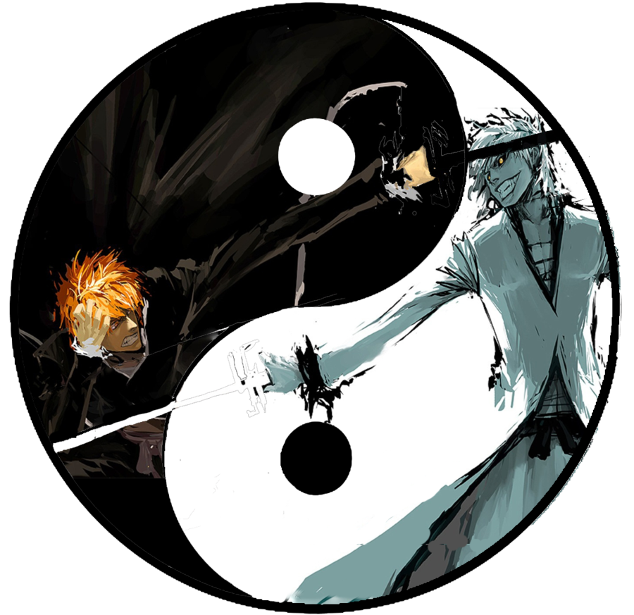 abstract yinyang  Philosophical gibberish of a lost Jedi