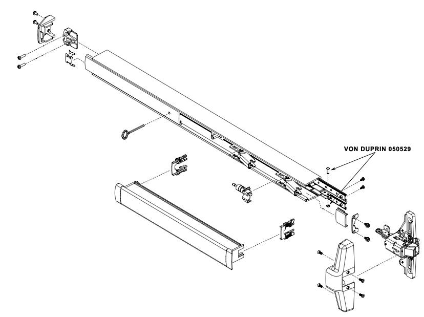 VON DUPRIN 050529 33A/35A Control Link Pin Kit (w