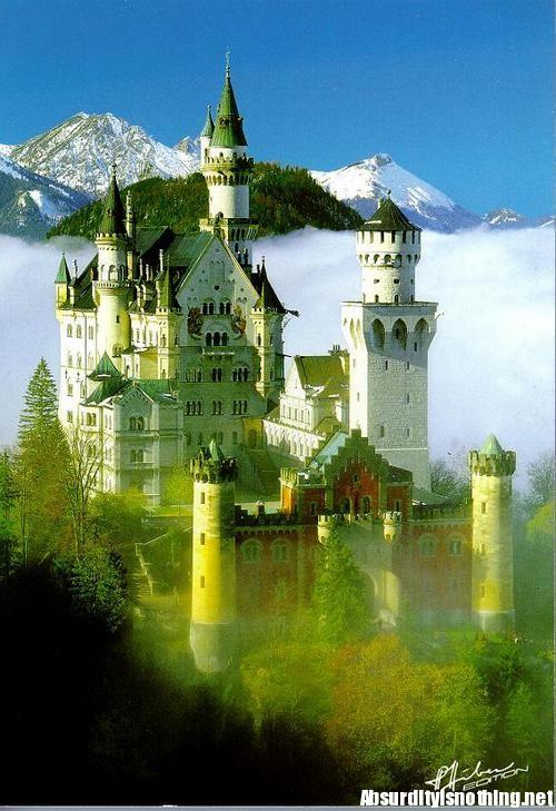 Il castello del Cigno